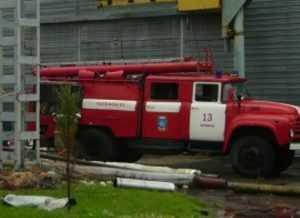 На Брянском машиностроительном заводе потушили очередной пожар