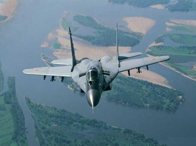 Истребитель Миг-29 потряс европейцев ракетным взлетом