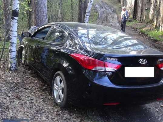 В Дятькове брянский водитель врезался в дерево и убил пассажира