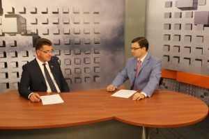 Глава Брянска Александр Хлиманков расскажет о путепроводе и долгостроях