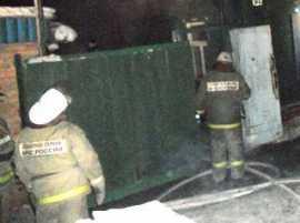 Под Брянском при пожаре пострадал хозяин дома
