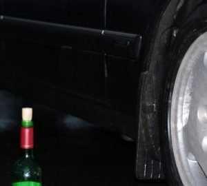 Пьяный брянец угнал автомобиль приятеля