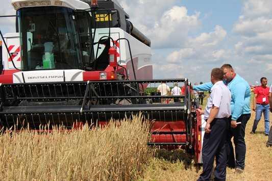 Дятьковский район Брянской области установил зерновой антирекорд