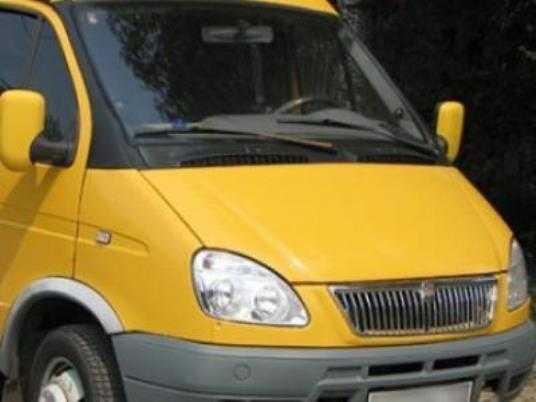 Брянская водительница протаранила маршрутку с пассажирами