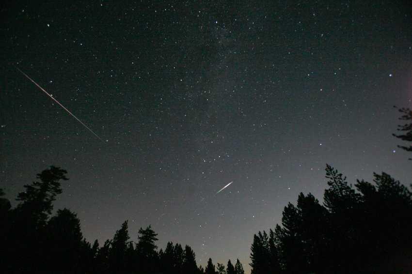 Брянские астрономы очаруются в Овстуге метеорным потоком