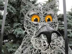 Заходи, если что: волк «Щас спою» исчез с площади Партизан в Брянске