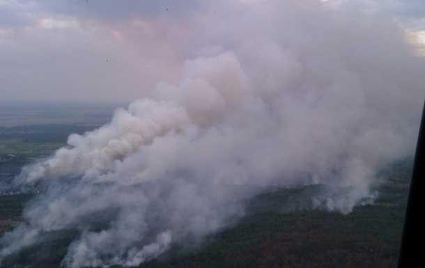 Северо-восточный ветер спасает брянцев от чернобыльского дыма Украины