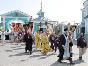 Встреченный брянцами крестный ход из Севастополя завершился в Смоленске