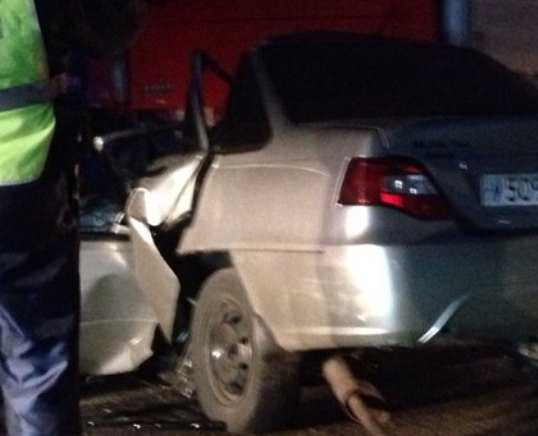 Под Брянском водитель погиб, протаранив две иномарки и грузовик