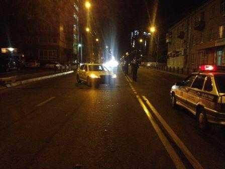 В Брянске погибла пассажирка мотоцикла, столкнувшегося с такси