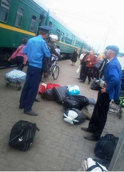 Украинские правосеки учинили мясной террор в Конотопе