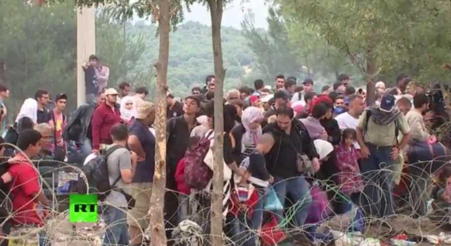 Мигранты пошли на штурм Европы