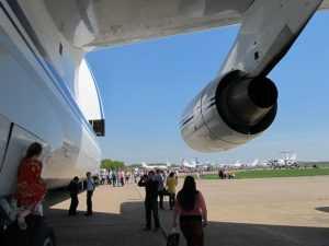 Военный аэродром в Сеще открыли для брянцев в честь Дня ВВС