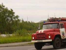 В брянском селе Мокром сгорела легковушка