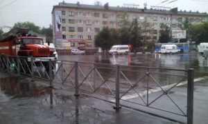 Брянские спасатели вышли на дежурство к местам подтоплений