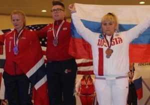 Брянская спортсменка выиграла чемпионат мира по пауэрлифтингу