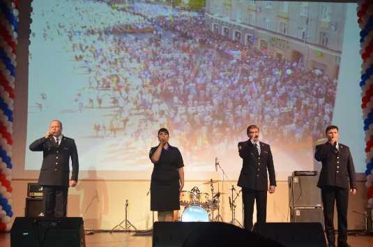 Брянские полицейские победили на песенном фестивале