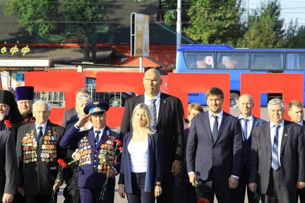 В Брянск на День города приехал Николай Валуев