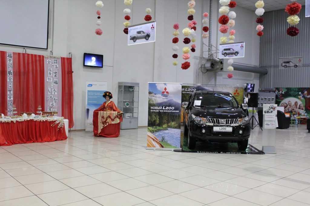 В Брянске прошла презентация нового Mitsubishi L200