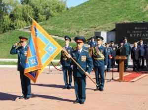 Брянскому управлению МЧС вручили боевое знамя