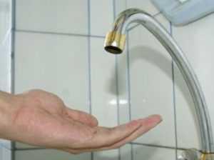 Центр Брянска оставят без воды