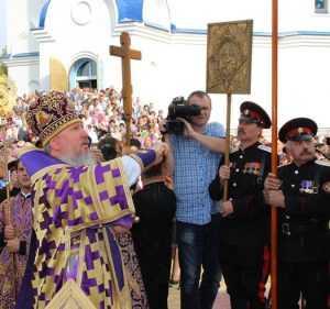 Митрополит Брянский и Севский освятил в Дятькове хрустальный крест