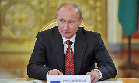 Владимир Путин поздравил брянского губернатора Александра Богомаза