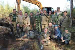 Возле брянского посёлка нашли обломки военного самолёта