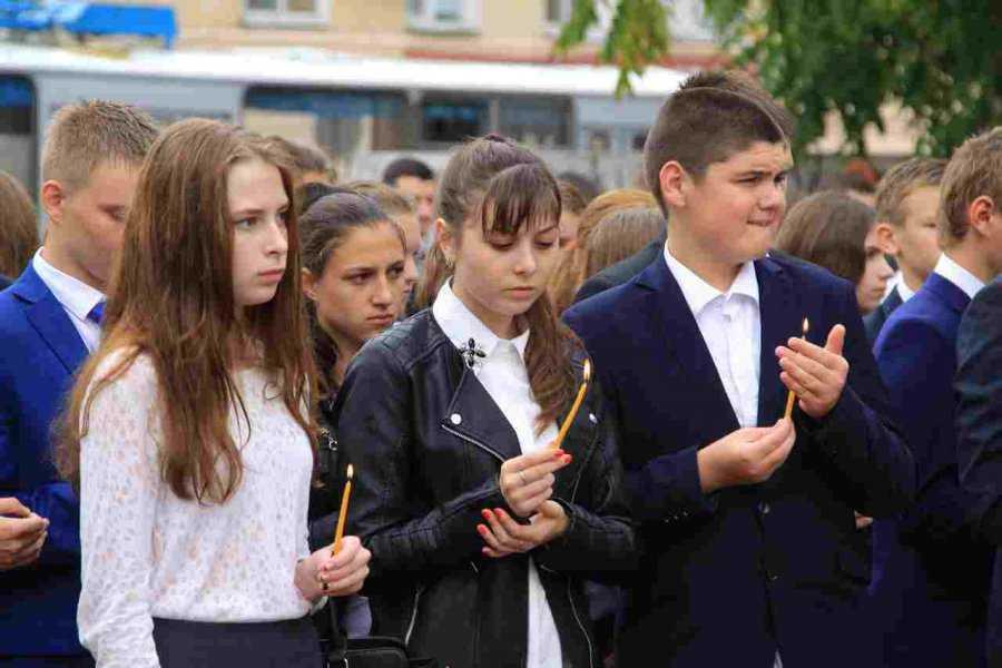 В Брянске вспомнили о жертвах терактов