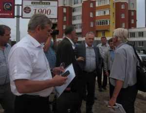В Брянске для Первомайского моста начали устройство свайного поля
