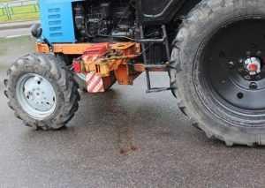 В брянском посёлке трактор покалечил пешехода