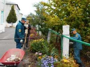 Спасатели привели в порядок брянские дома престарелых