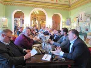 Брянцы приняли участие в открытии отделения Изборского клуба во Владимире