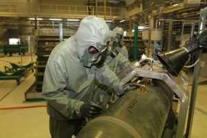 В Брянской области уничтожили последнее химическое оружие