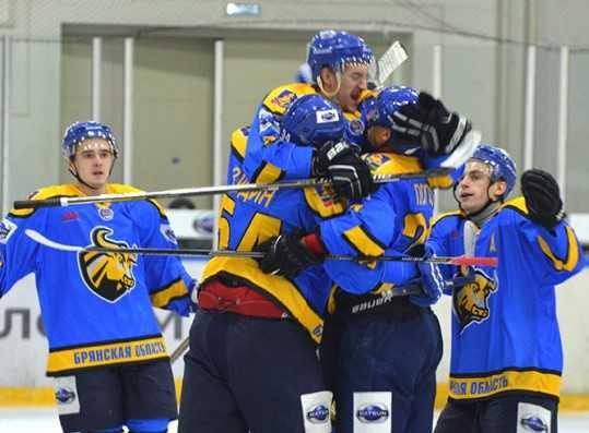 Хоккейный «Брянск» с трудом одолел «Белгород», забросив 6 шайб
