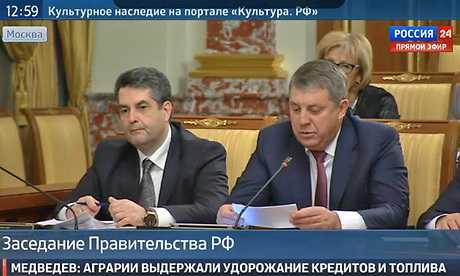 Брянский губернатор пообещал Медведеву утроить урожай зерна