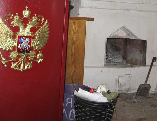 От холода жители центра Брянска закутались в тулупы