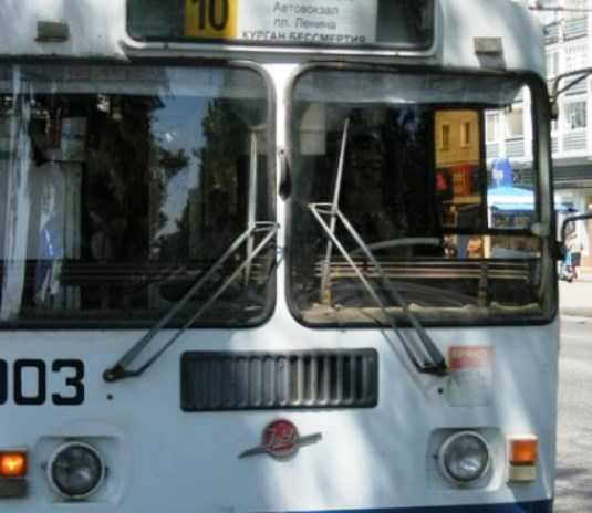 Завтра в Брянске отключат троллейбусы