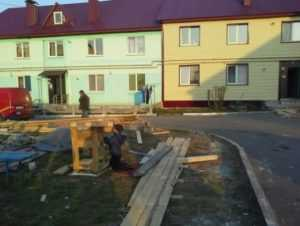 Жители брянского посёлка Белые Берега не дождались обещанных квартир