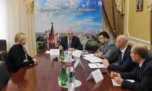 Брянский губернатор и Мурат Зязиков обсудили сужение чернобыльской зоны