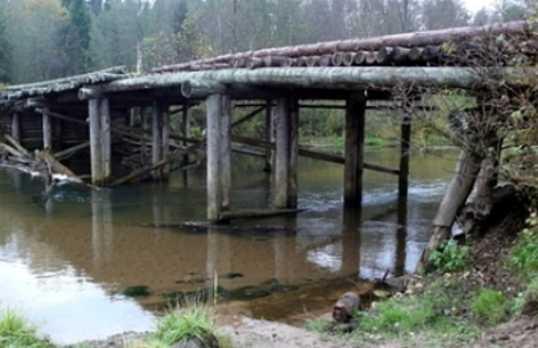 В брянском райцентре обнаружили бесхозный мост