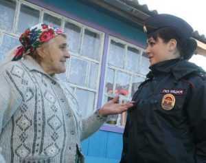 Екатерину Курченко признали в Брянске народным участковым