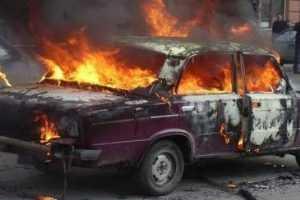 В Володарском районе Брянска сгорели «Жигули»
