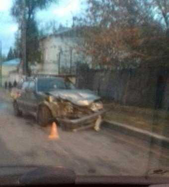 Причиной огромного затора в Брянске стало ДТП на Красноармейской