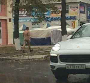 На Брянск обрушилось нашествие голых