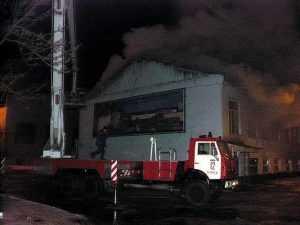 В Брянске случился пожар на стальзаводе
