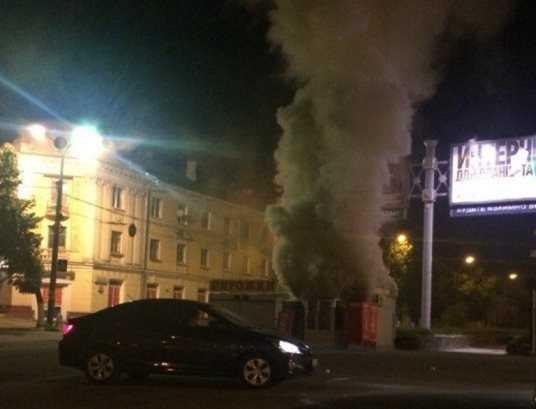 Уголовник ответит за разбой и поджог киоска на набережной в Брянске
