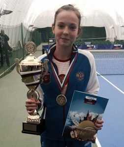 Кубок Кремля достался брянской теннисистке Владе Коваль