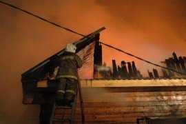 В Брянске сгорела дача