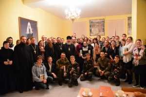Митрополит Александр встретился с брянской православной молодежью